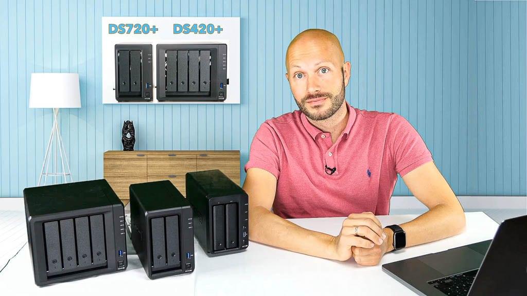 Da sind sie! Die neuen Synology DiskStation DS720+ & DS420+