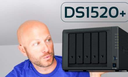 Die neue DS1520+, eine DS920+ mit einem Laufwerksschacht mehr