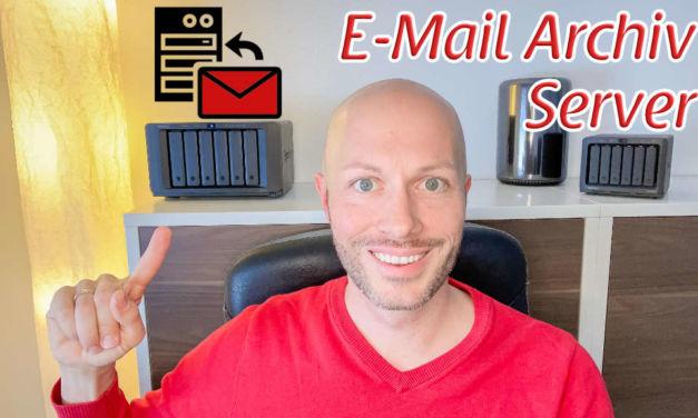 E-Mail Archiv auf der Synology DiskStation – so einfach ist das!